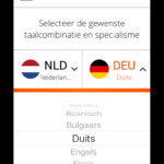 APP - choose languages